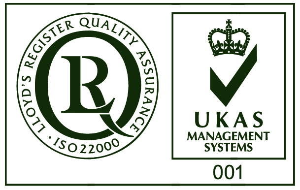 ISO 22000 and UKAS Mark
